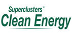 Clean Energy Superclusters